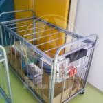 oprema za telovadnice - voziček za žoge alpin 4